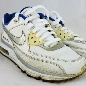 info for 11071 3be74 Nike Shoes - Nike sneakers Air Max white rainbow silver retro